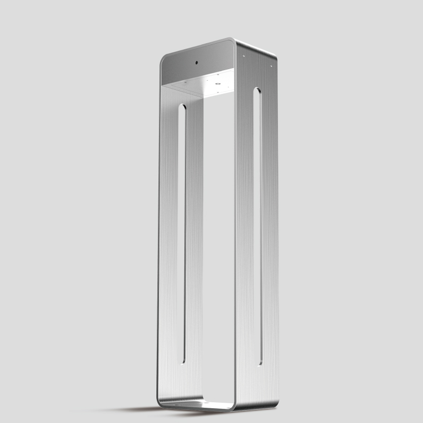 Stainless Steel Solar LED Bollard from Meteor Lighting