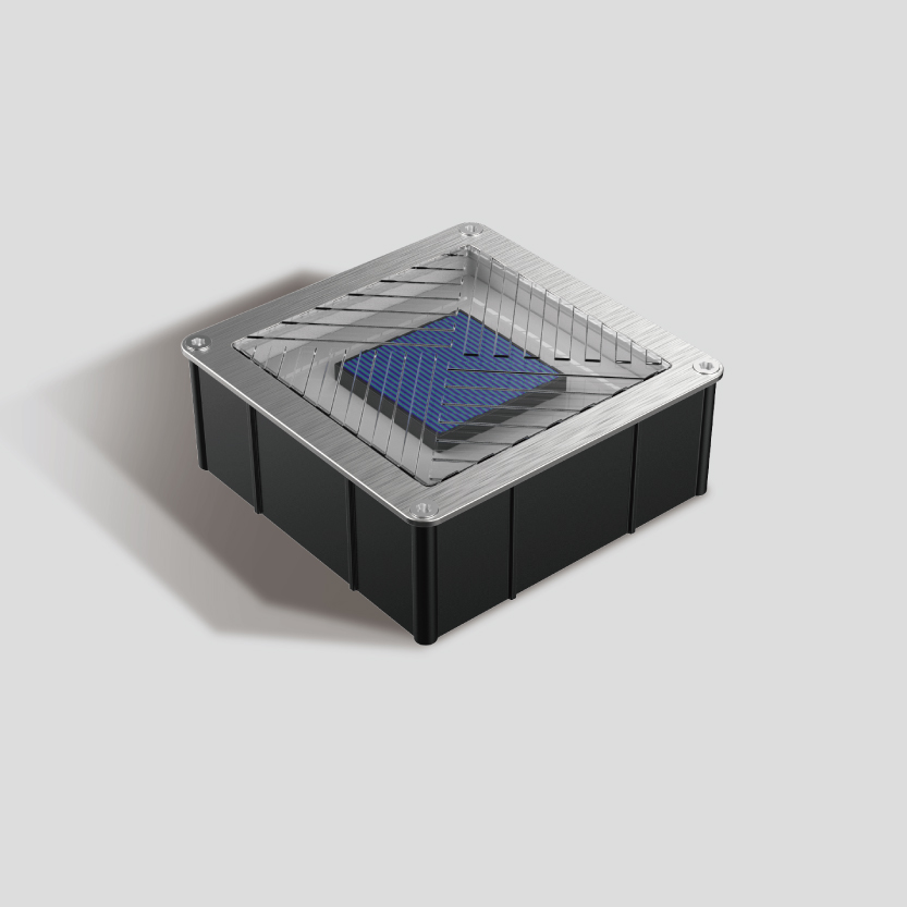 Square Solar Pavers from Meteor Lighting