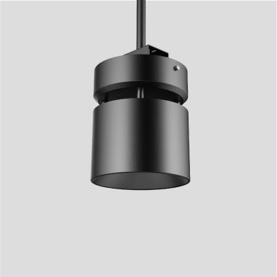 Signum 8 High Ceiling Cylinder from Meteor Lighting