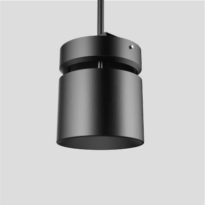 Signum 10 High Ceiling Cylinder from Meteor Lighting