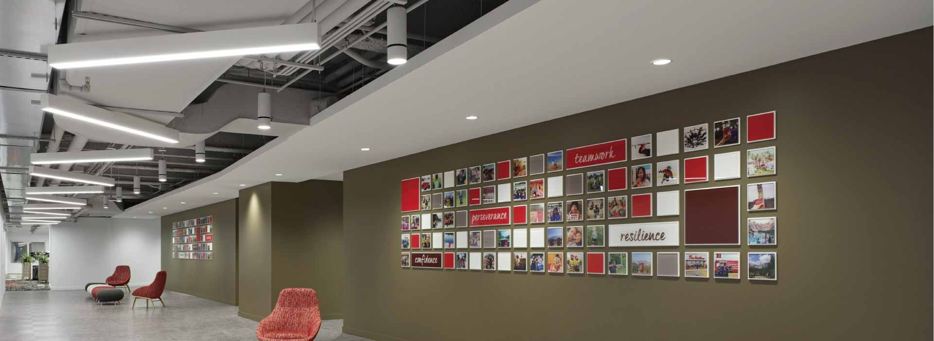 Tim Hortons HQ - Atria 4 Installation